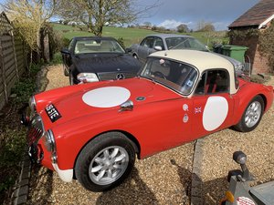 1960 MGA Historic Rally Car with Docouments For Sale