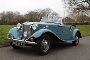 MG TD MKII 1953 - To be auctioned 26-04-19 For Sale by Auction