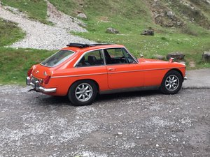 MGB GT 1973, Webasto, Overdrive, light project For Sale