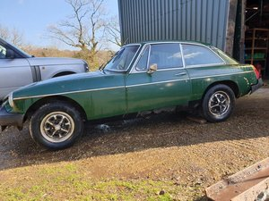 MGB GT 1977 PROJECT / RESTORATION For Sale