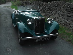 1953 Rare MGTD/C Factory competition model For Sale