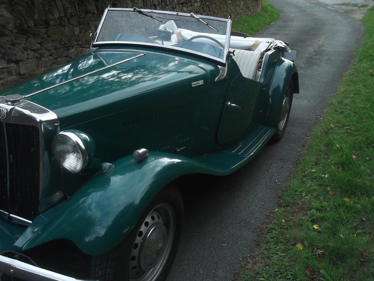 1953 Rare MGTD/C Factory competition model For Sale (picture 2 of 6)