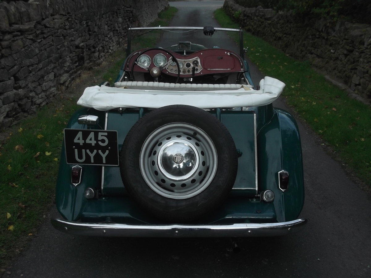 1953 Rare MGTD/C Factory competition model For Sale (picture 3 of 6)