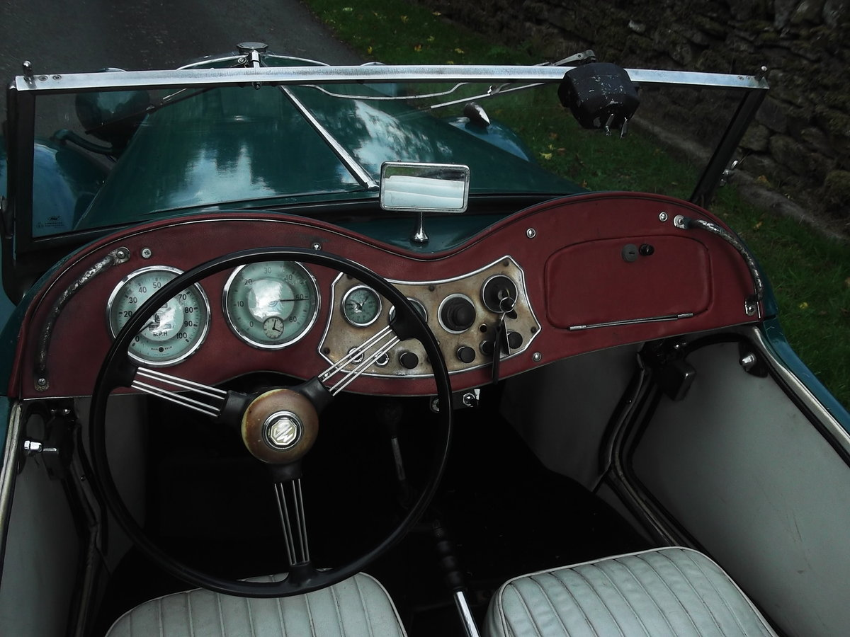 1953 Rare MGTD/C Factory competition model For Sale (picture 4 of 6)