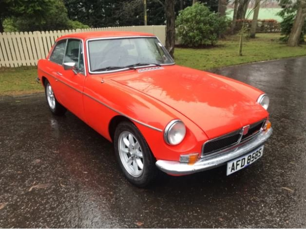 1973 MGB GT  For Sale (picture 1 of 6)