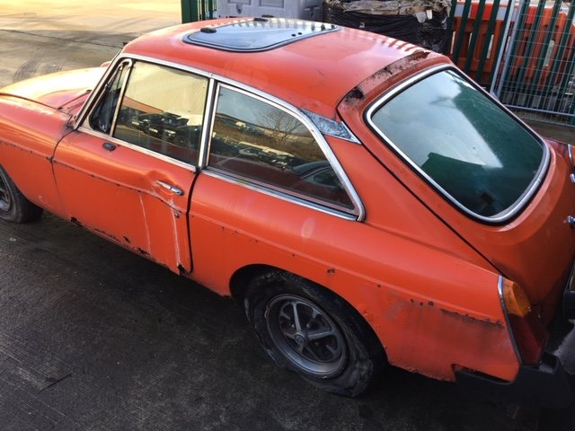 1981 2 x MGB GT's for restoration For Sale by Auction (picture 6 of 6)