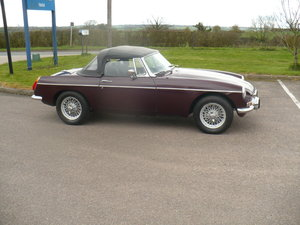 mgb roadster 1978 low mileage 49000