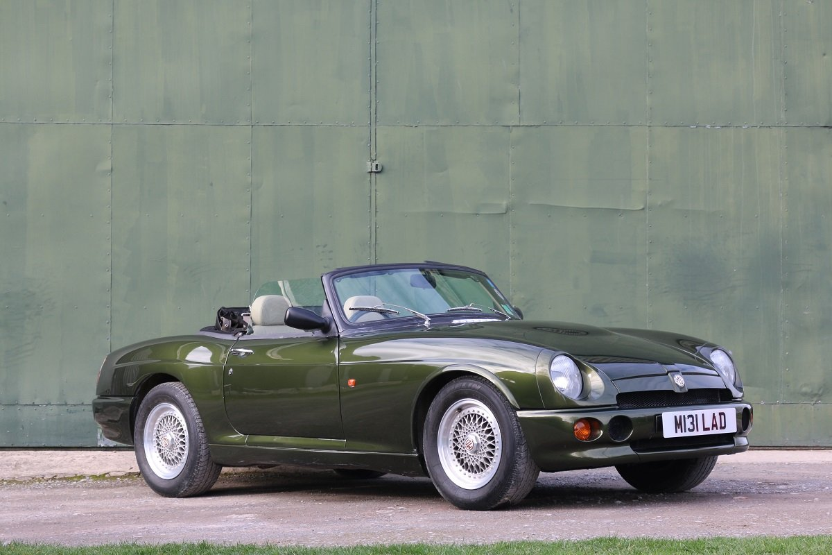 1995 MG RV8,Just 19k miles,extensive history. For Sale (picture 1 of 6)