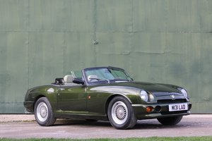 1995 MG RV8,Just 19k miles,extensive history. For Sale