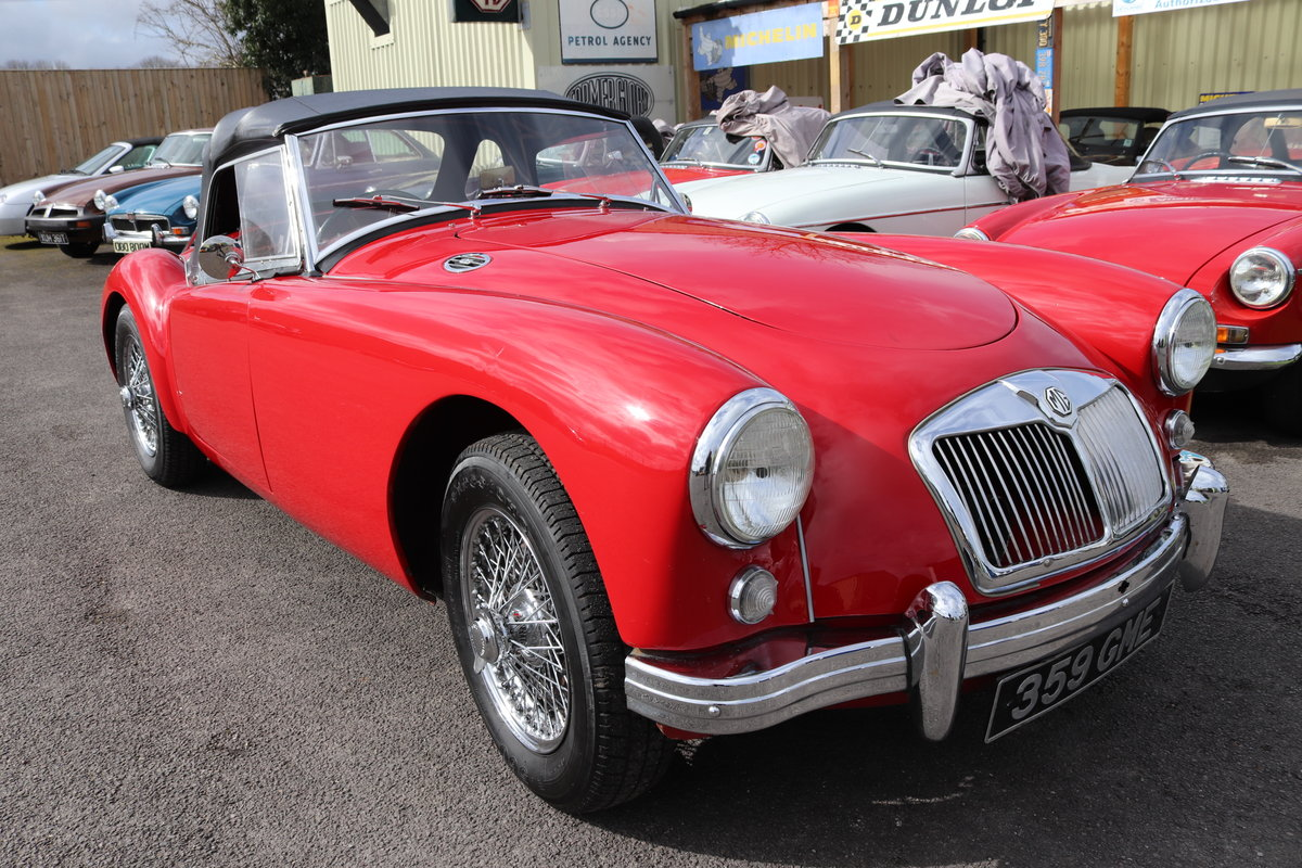 1956 MGA Roadster 1500, UK Car For Sale (picture 1 of 6)