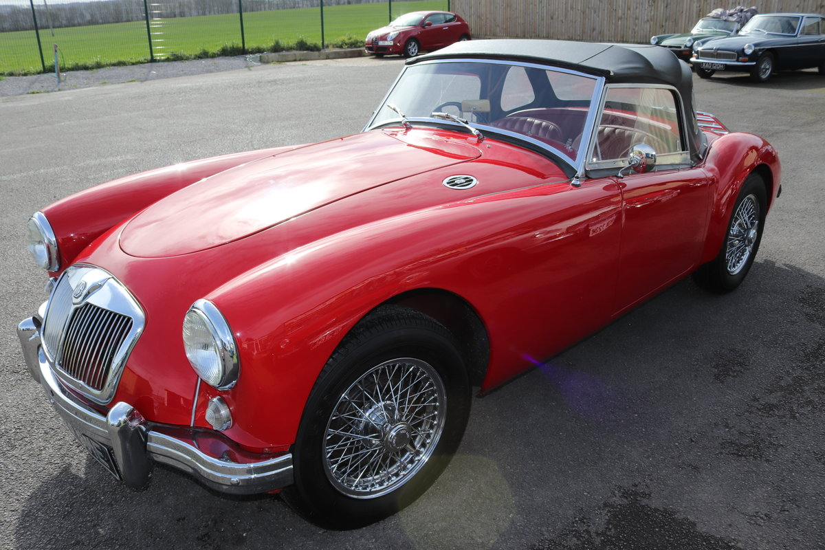 1956 MGA Roadster 1500, UK Car For Sale (picture 5 of 6)