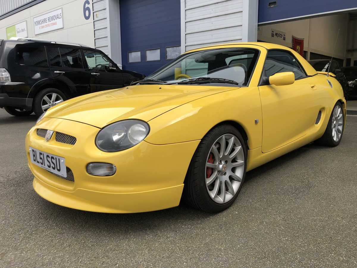 2001 MG F Trophy 160 *Very low Mileage* For Sale (picture 1 of 6)