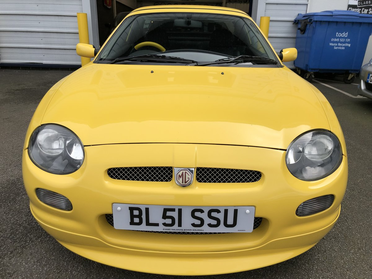 2001 MG F Trophy 160 *Very low Mileage* For Sale (picture 2 of 6)