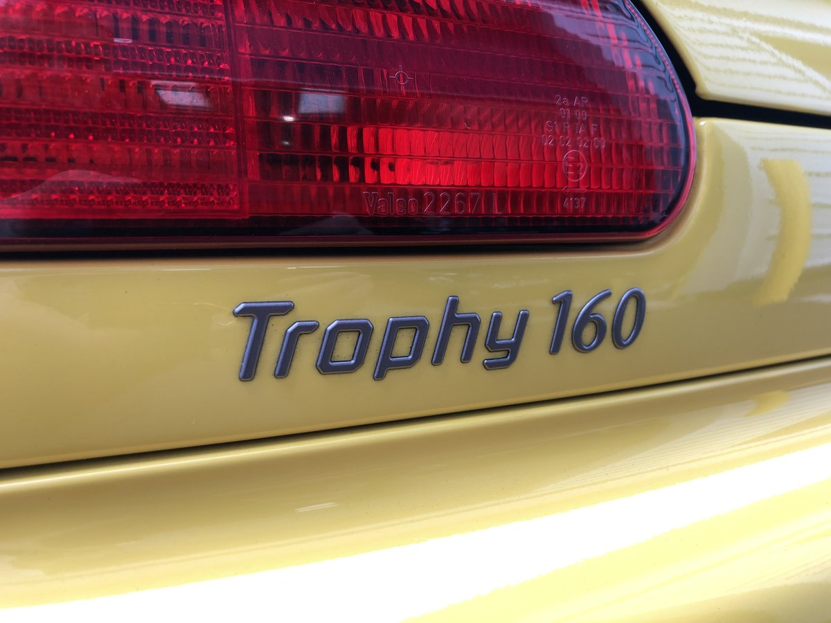 2001 MG F Trophy 160 *Very low Mileage* For Sale (picture 6 of 6)
