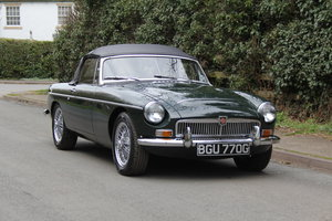 1969 MGC Roadster - 3000 miles since full rebuild  SOLD