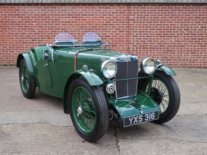 1933 MG Midget J2 For Sale