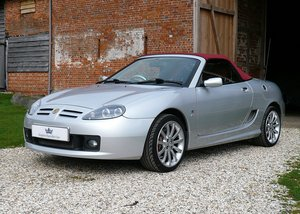 2004 MGTF 80th Anniversary LE with hard top, FSH. SOLD