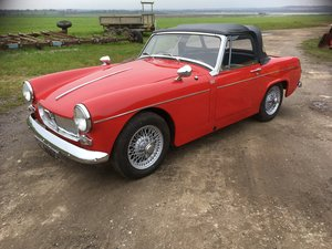 Mg midget 1965 2 owners many new parts For Sale