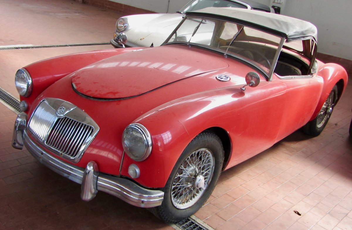 MGA 1.5 1957 RODSTER For Sale (picture 1 of 6)
