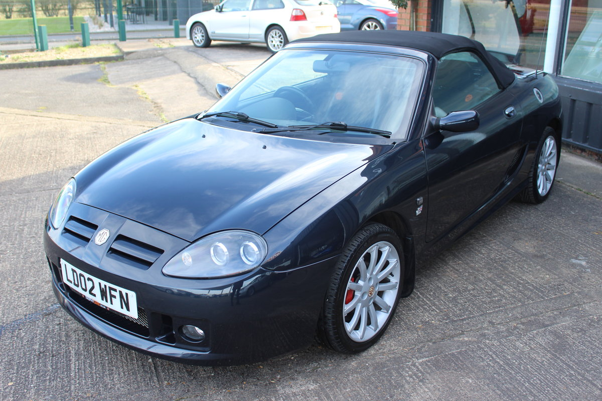 2002 MG TF 160,ONLY 44,000 MLS,NEW HEADGASKET,BELT & PUMP SOLD (picture 2 of 6)