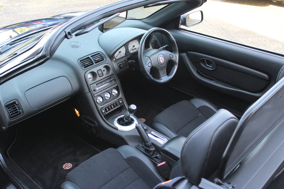 2002 MG TF 160,ONLY 44,000 MLS,NEW HEADGASKET,BELT & PUMP SOLD (picture 3 of 6)