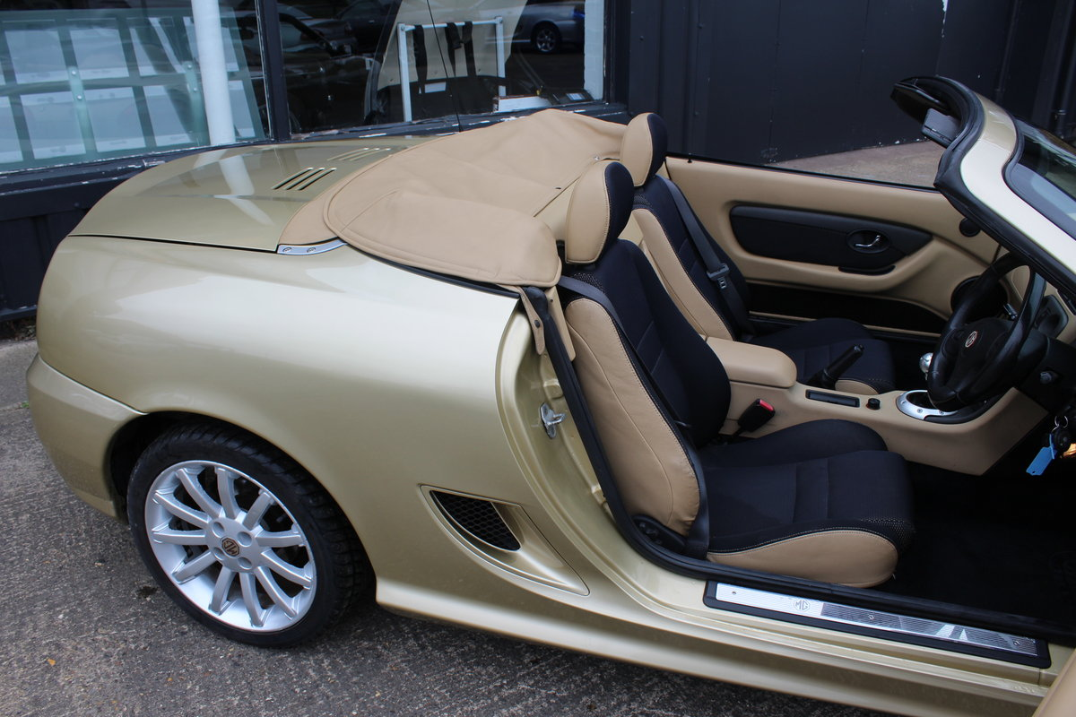 MG 2004 TF 135,RARE COLOUR,34K,NEW HEADGASKET,BELT & PUMP SOLD (picture 4 of 6)