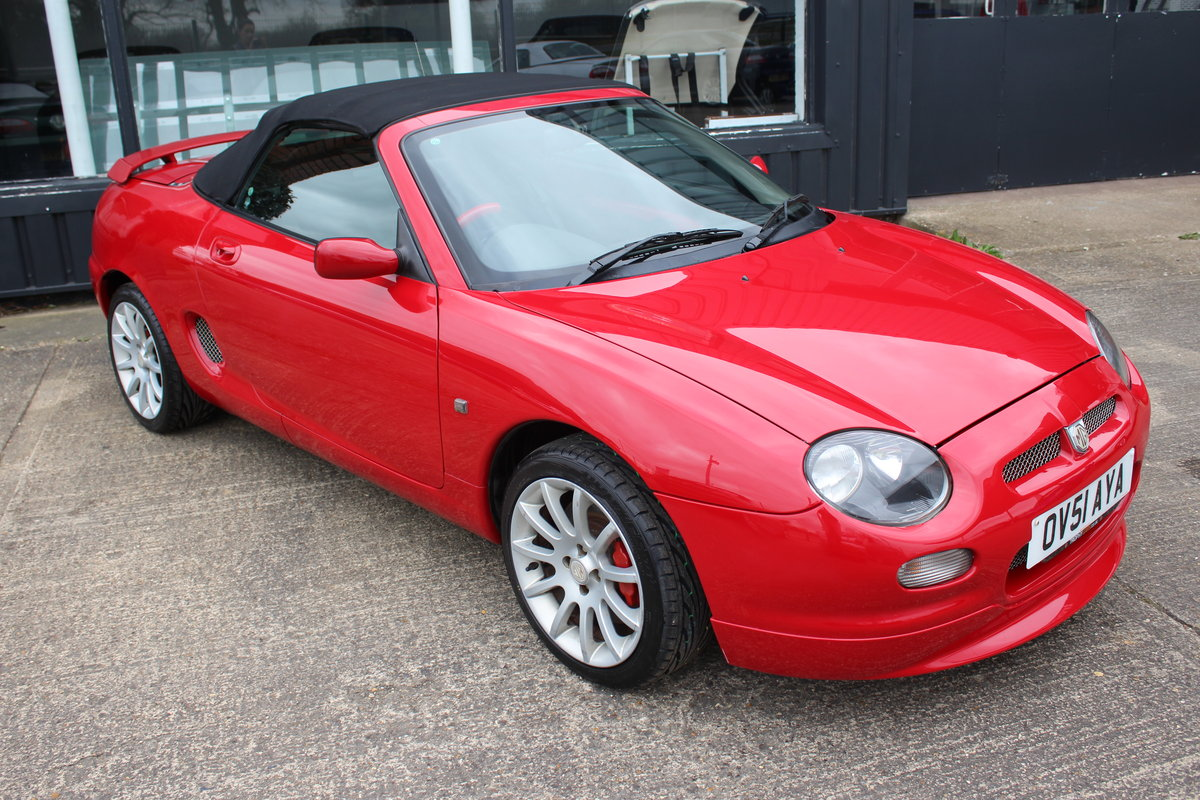 2001 MGF TROPHY 160,STUNNING,61K,NEW HEADGASKET,BELT & PUMP SOLD (picture 1 of 6)