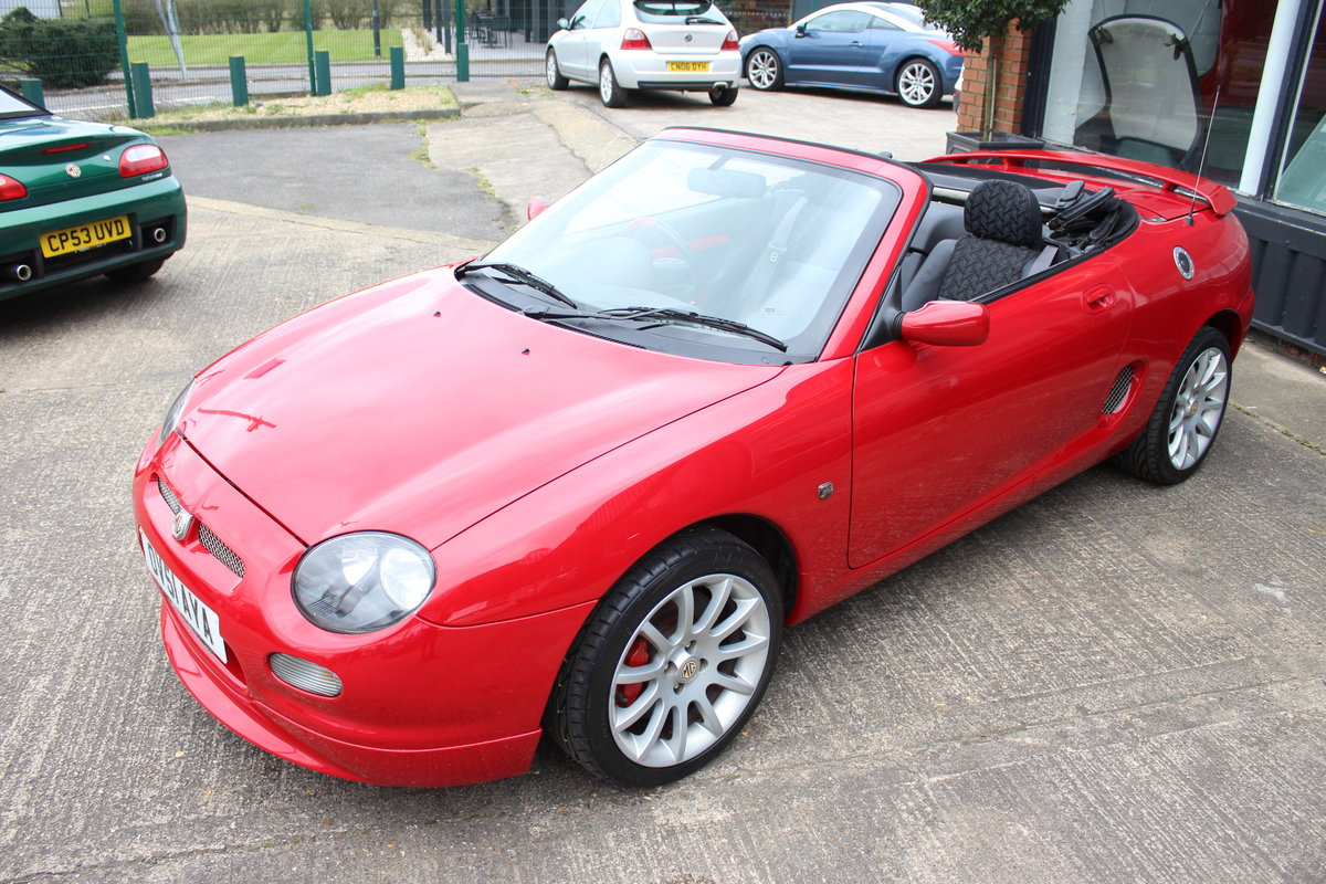 2001 MGF TROPHY 160,STUNNING,61K,NEW HEADGASKET,BELT & PUMP SOLD (picture 2 of 6)