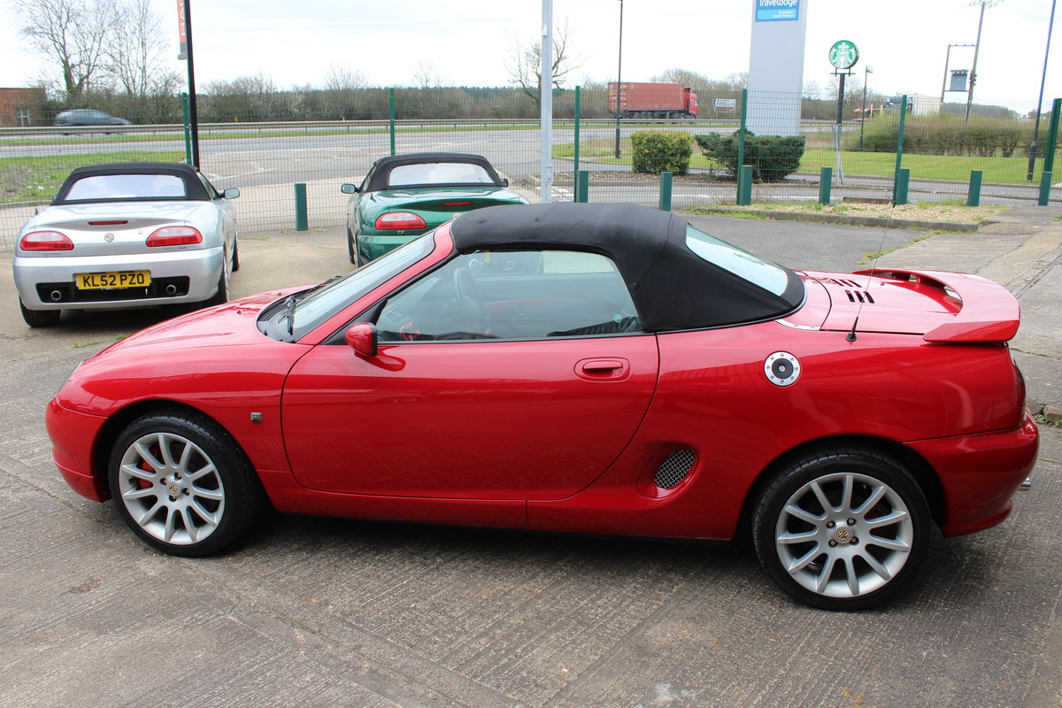 2001 MGF TROPHY 160,STUNNING,61K,NEW HEADGASKET,BELT & PUMP SOLD (picture 3 of 6)