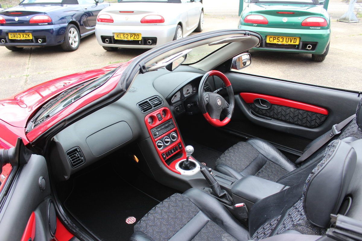 2001 MGF TROPHY 160,STUNNING,61K,NEW HEADGASKET,BELT & PUMP SOLD (picture 5 of 6)