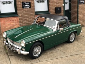 1966 MG Midget, BRG, Wire wheels  For Sale