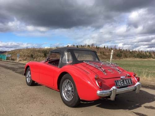 1960 MG A at Morris Leslie Classic Vehicle Auction 25th May SOLD by Auction (picture 2 of 6)