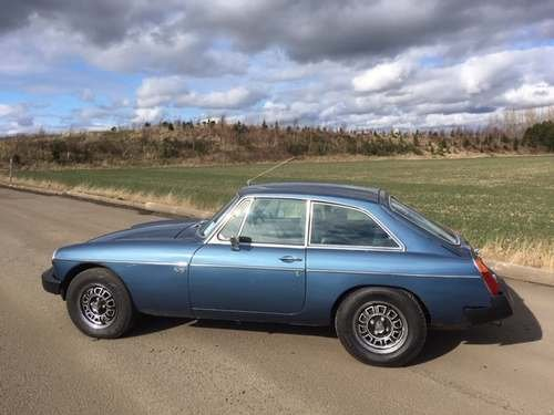 1975 MG B GT V8 at Morris Leslie Classic Auction 25th May SOLD by Auction (picture 2 of 6)