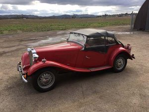 1952 MG TD/TF at Morris Leslie Auction 25th May SOLD by Auction