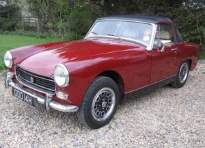 1970 MG Midget for sale by Mike Authers Classics ltd. For Sale