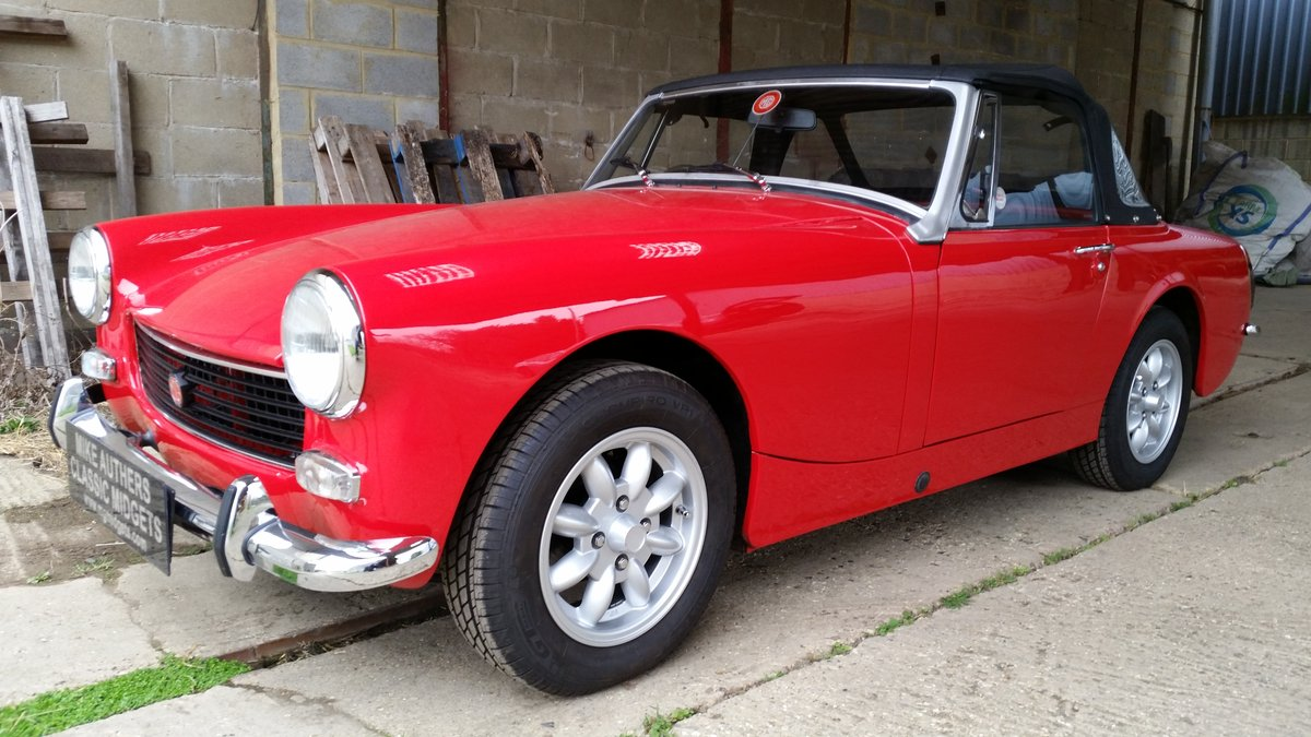 1973  MkIII MG Midget for sale by Mike Authers Classics Ltd SOLD For Sale (picture 2 of 6)
