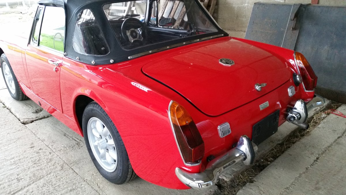 1973  MkIII MG Midget for sale by Mike Authers Classics Ltd SOLD For Sale (picture 3 of 6)