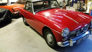 1966 MG Midget 1275cc restored with a Heritage bodyshell  For Sale