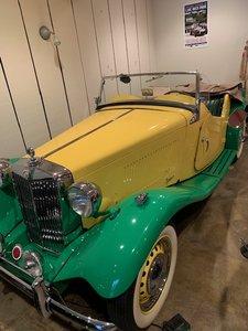 1954 MG TD complet restoration