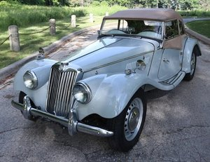 1954 LEFT HAND DRIVE MGTF For Sale