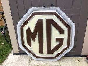MG dealership sign,1970/80s For Sale