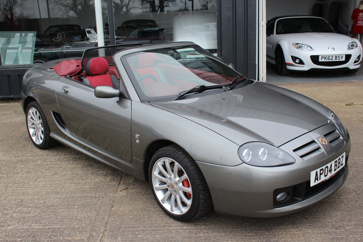 2004 MG TF 160, ONLY 7000!!!!!! ,RARE INTERIOR,GREAT HISTORY SOLD (picture 1 of 6)