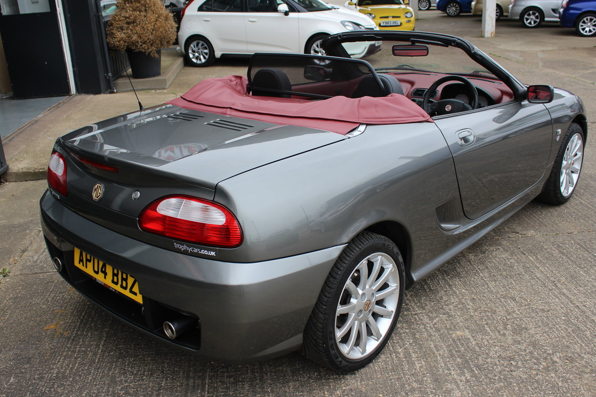 2004 MG TF 160, ONLY 7000!!!!!! ,RARE INTERIOR,GREAT HISTORY SOLD (picture 2 of 6)