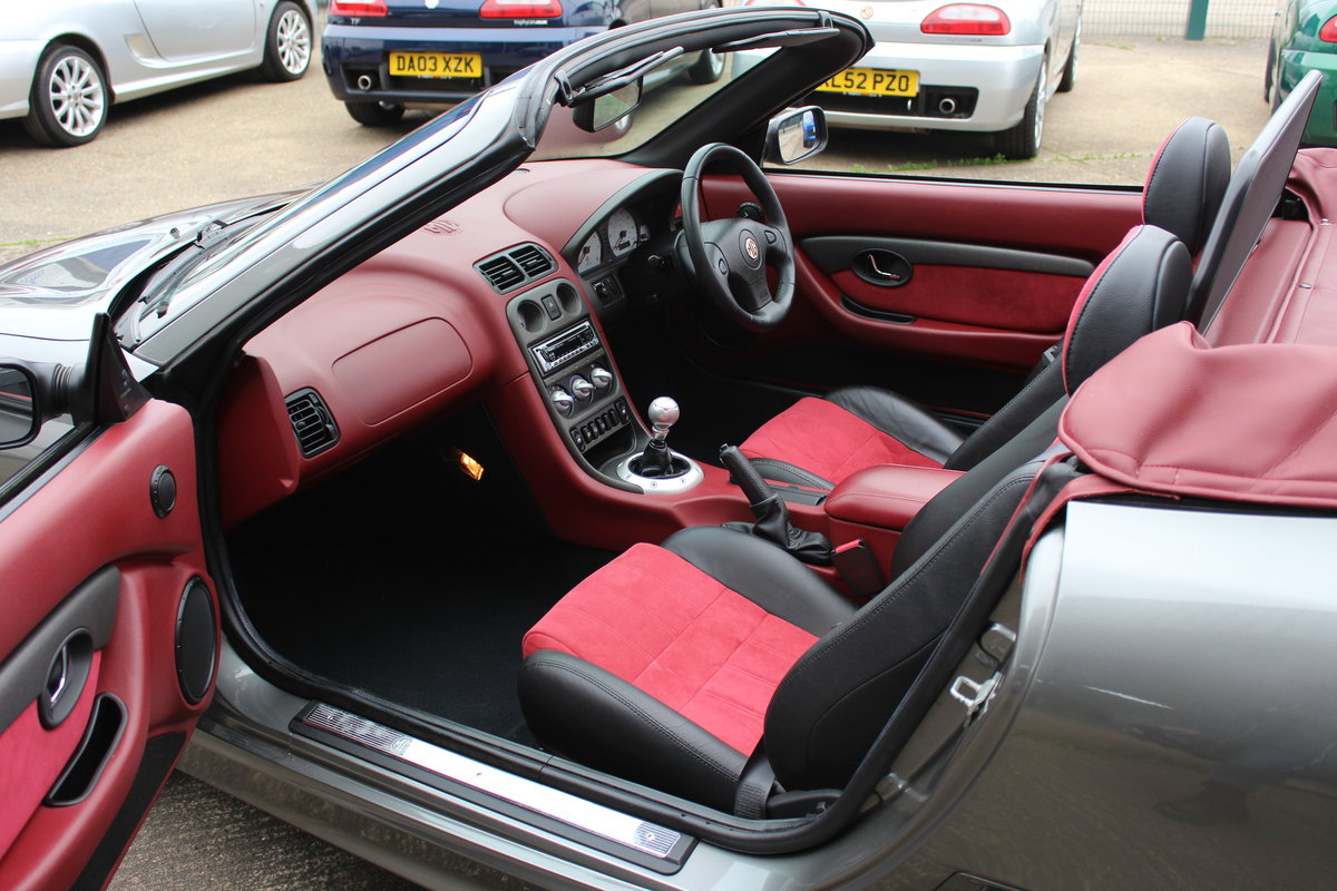 2004 MG TF 160, ONLY 7000!!!!!! ,RARE INTERIOR,GREAT HISTORY SOLD (picture 3 of 6)