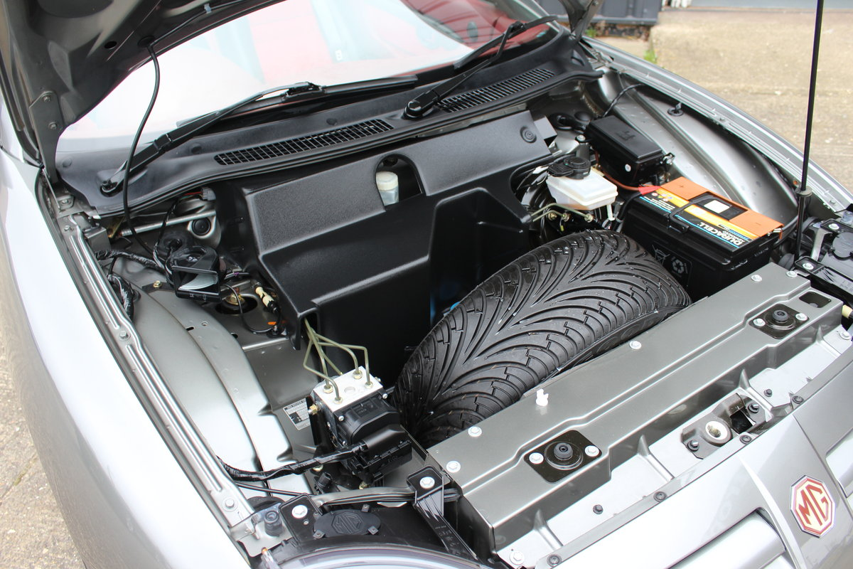 2004 MG TF 160, ONLY 7000!!!!!! ,RARE INTERIOR,GREAT HISTORY SOLD (picture 4 of 6)