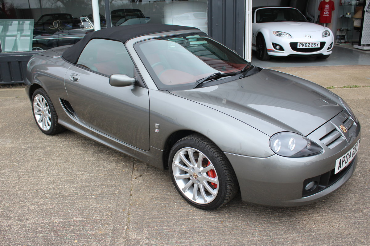 2004 MG TF 160, ONLY 7000!!!!!! ,RARE INTERIOR,GREAT HISTORY SOLD (picture 5 of 6)