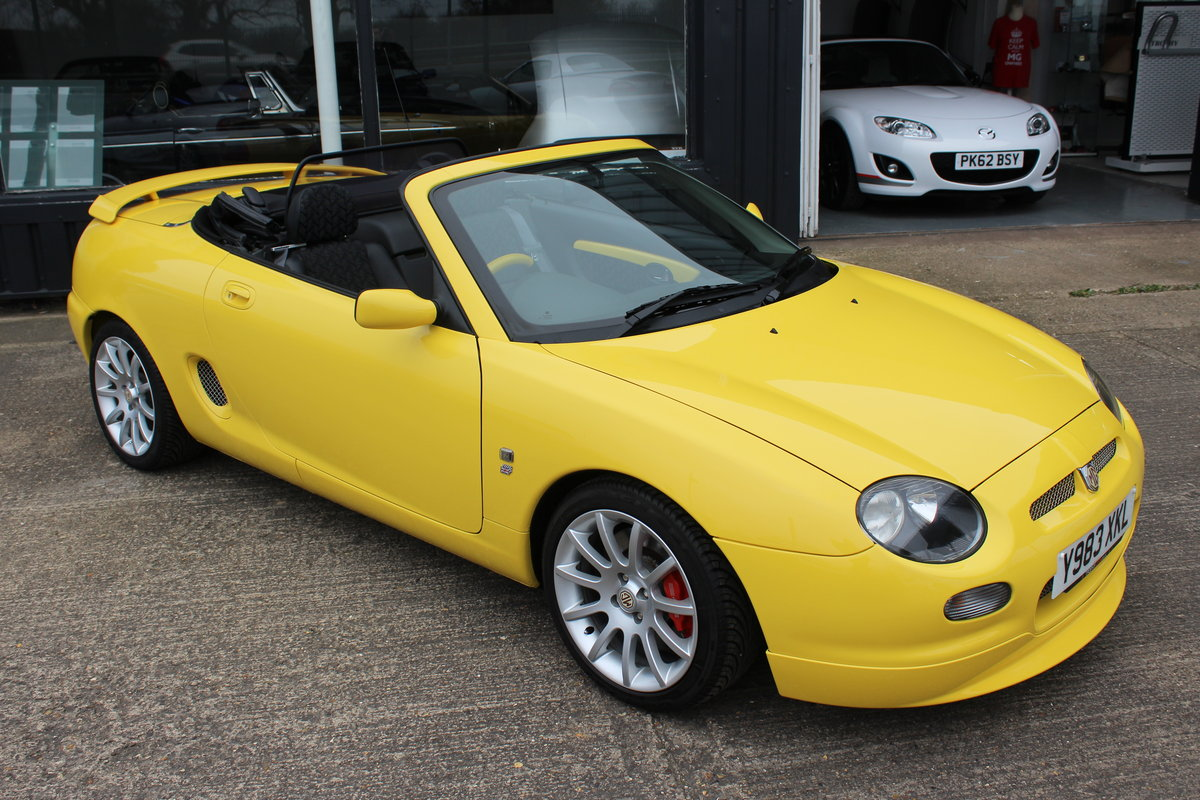 2001 MGF TROPHY 160, ONLY 6000 MILES FROM NEW!! SOLD (picture 1 of 6)