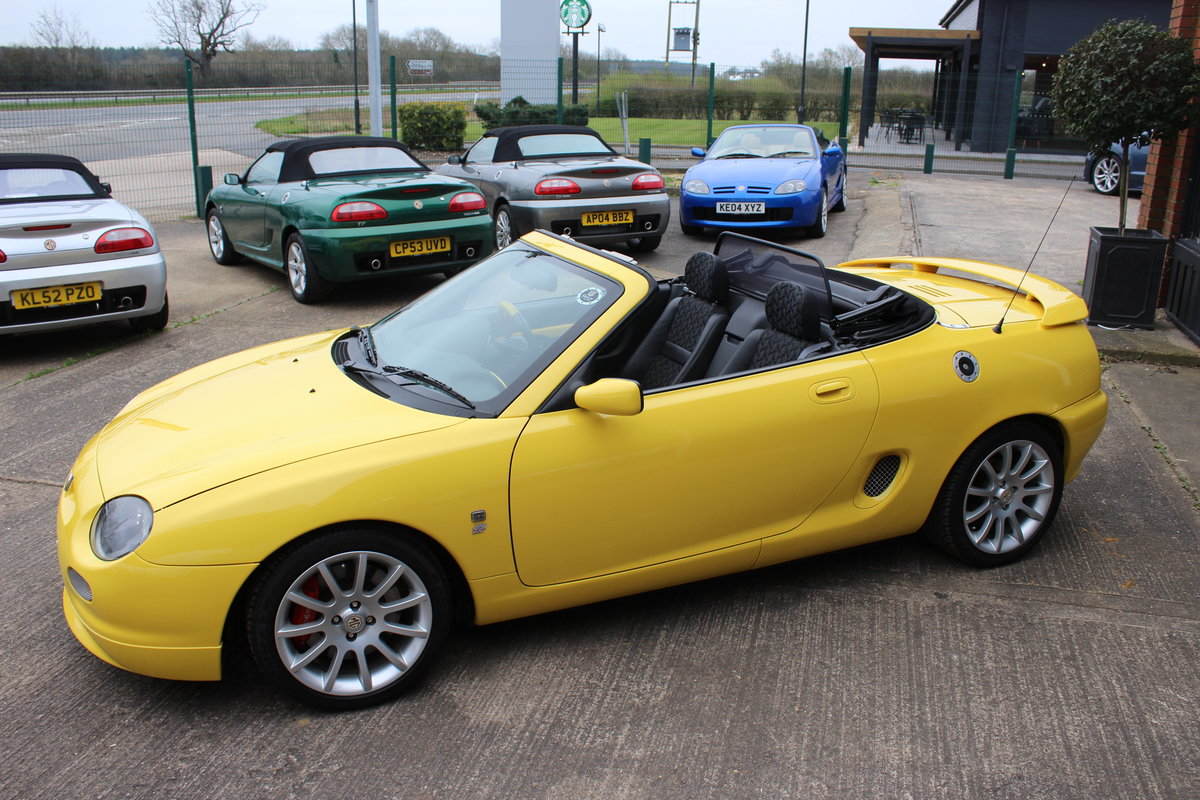 2001 MGF TROPHY 160, ONLY 6000 MILES FROM NEW!! SOLD (picture 2 of 6)