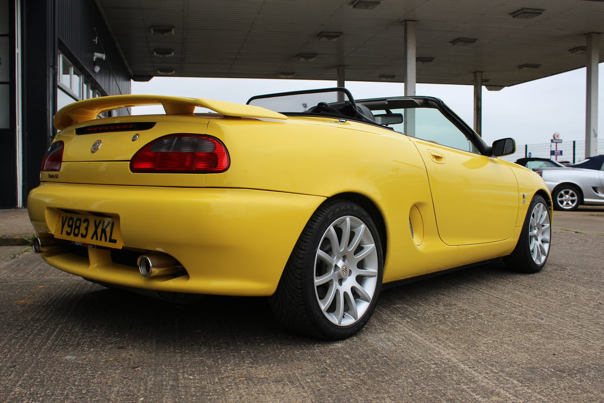 2001 MGF TROPHY 160, ONLY 6000 MILES FROM NEW!! SOLD (picture 3 of 6)