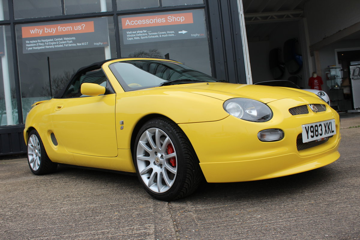2001 MGF TROPHY 160, ONLY 6000 MILES FROM NEW!! SOLD (picture 6 of 6)
